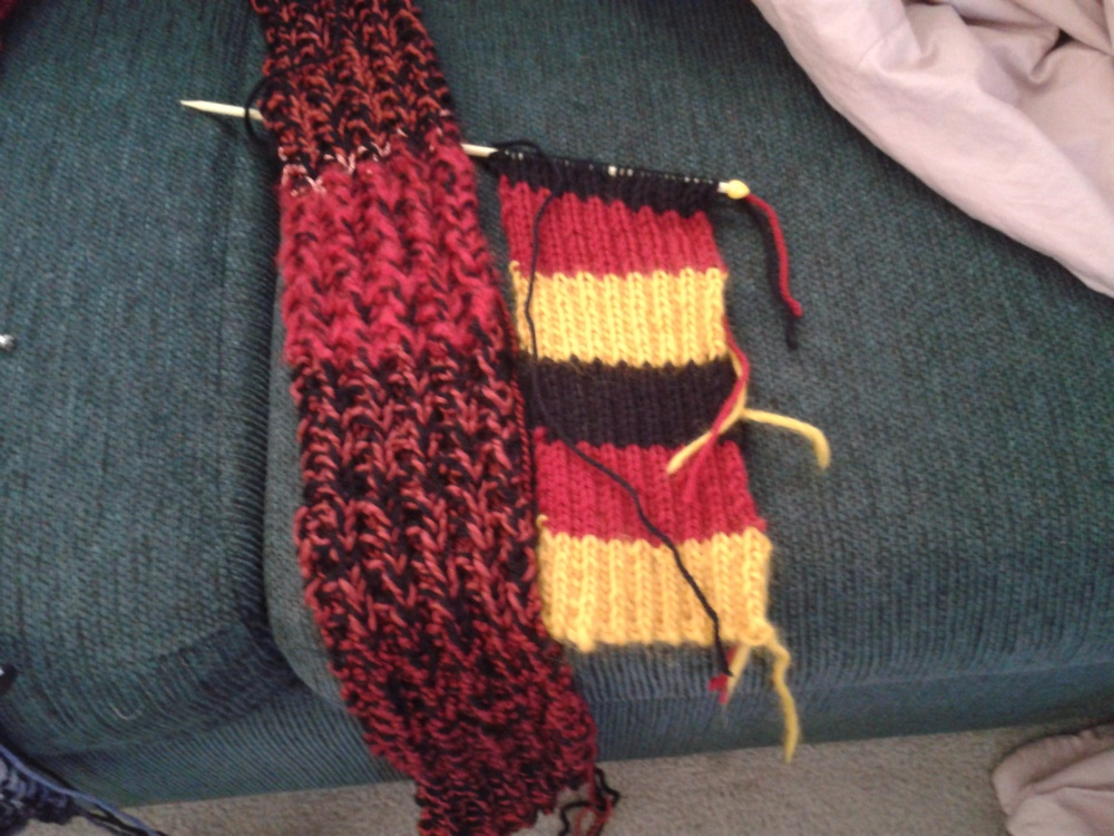 Summer's knitting, inside and out (2/2)